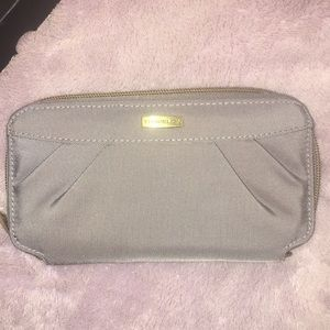 Brand new Travelon grey wristlet